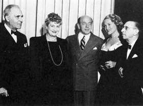 Alma with Bruno Walter (1948)