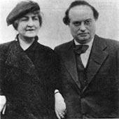 Franz Werfel and alma mahler