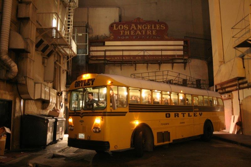 Tour Bus For Los Angeles